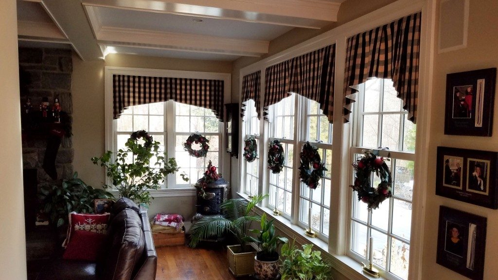 Tapered Valances by Rosen Interiors