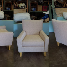 After Custom Reupholstery
