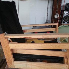 Before Custom Reupholstery