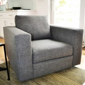 gray modern chair