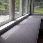 our custom window seat
