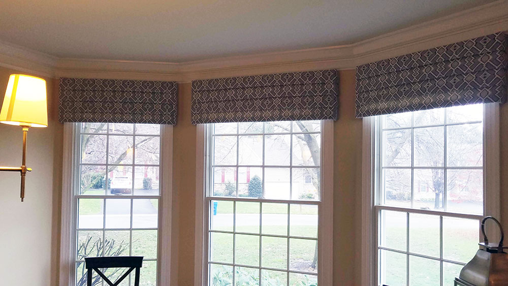 Custom Window Valances Rosen Interiors, Dining Room Valances