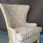 After reupholstering a chair 2