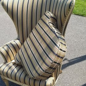 Before Reupholstering a Fan Chair