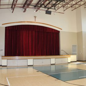 stage drape project